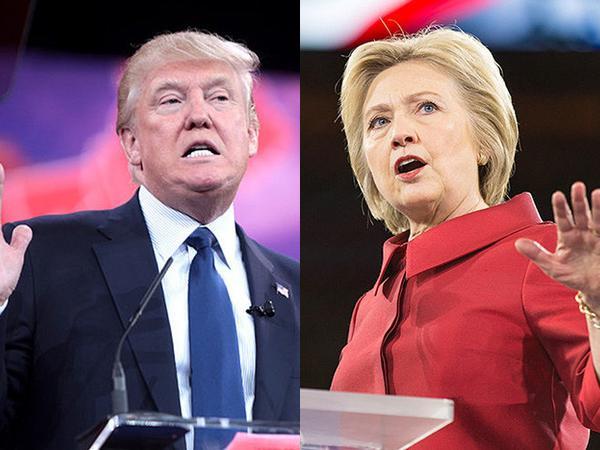 Sorğu: Klinton Trampı 5 faiz qabaqlayır