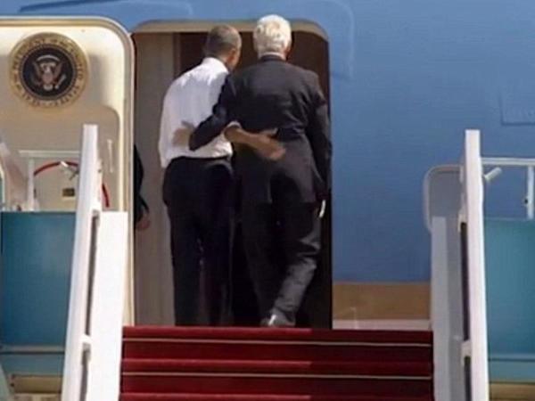 """Obama qışqırdı: """"Gəl də, kimi gözləyirsən?!"""" - VİDEO - FOTO"""