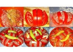 Ərəblərin pomidor dolması