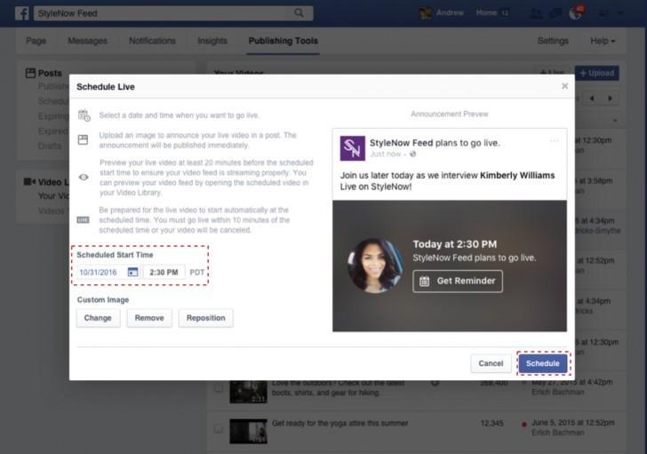 Facebook canlı yayım xüsusiyyətinə daha bir funksiya əlavə etdi - FOTO