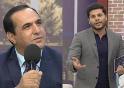 """Zaurla Manaf Ağayev arasında mübahisə: """"İstəyir ki, bunun iynəsini vurum"""" - VİDEO"""