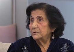 """""""Arxamca gəlirdi, mənə məktublar yazırdı"""" - Xəlil Rza Ulutürkün xanımı - VİDEO - FOTO"""