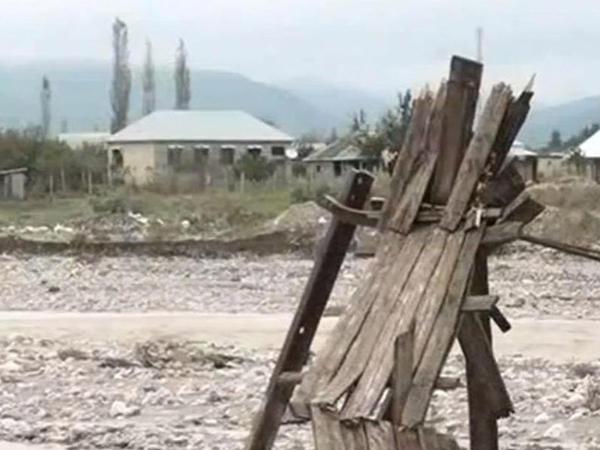 Ağsu çayına sel gəldi- bəndləri uçurdu - VİDEO - FOTO