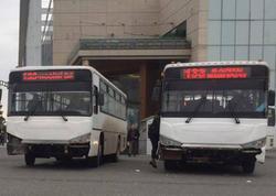 """Yağış avtobuslarımızı daha """"DƏBLİ"""" etdi - FOTO"""