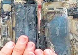 """""""Samsung""""dan sonra indi də """"iPhone"""" partladı - FOTO"""