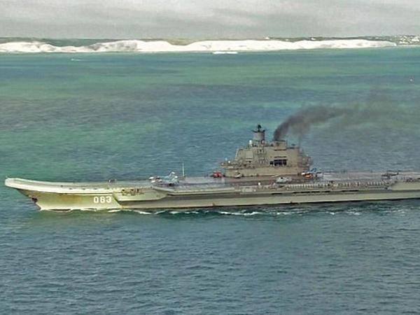 Rusiya hərbi gəmiləri Suriyaya üzür - VİDEO - FOTO