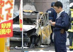 İstefada olan hərbçi özünü, avtomobilini partlatdı, 3 uşaq yaralandı - YENİLƏNİB