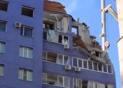 Rusiyada yaşayış binası belə partladı - VIDEO