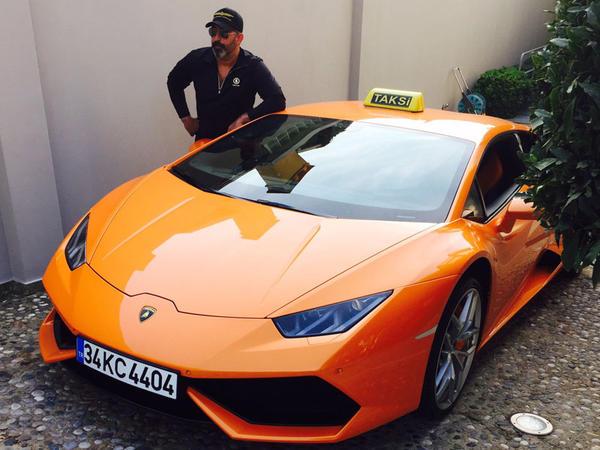 """1 milyon 600 minlik """"taksi"""" - FOTO"""