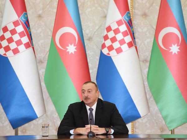"""Azərbaycan Prezidenti: """"""""Cənub"""" Qaz Dəhlizi artıq reallıqdır"""""""