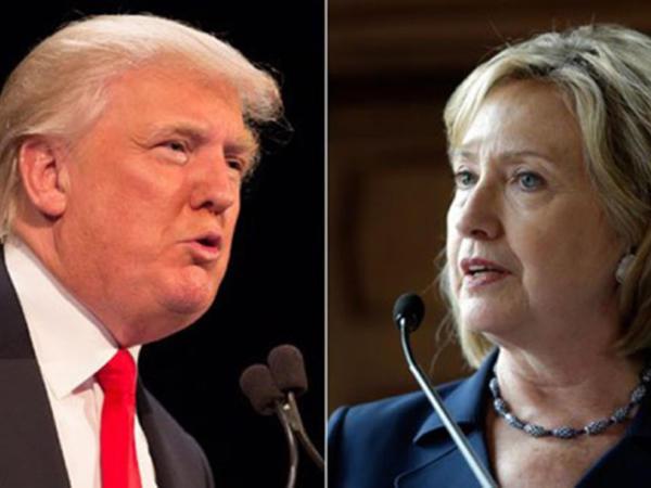 Tramp Arizona və Florida ştatlarında Klintonu qabaqlayır