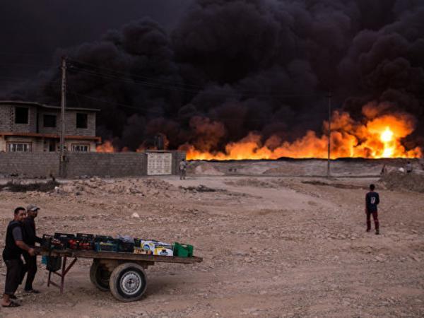 İŞİD silahlıları Mosul yaxınlığında 232 dinc sakini edam edib