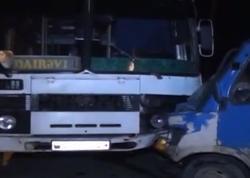 Sərnişin avtobusu qəzaya uğradı: yaralılar var - YENİLƏNİB - VİDEO - FOTO