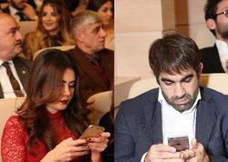 Telefondan ayrıla bilməyən yerli məşhurlar - FOTO