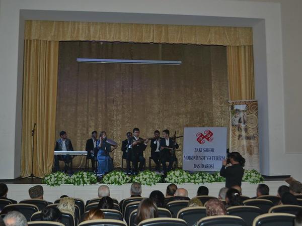 Aşıq Pənahın 90 illik yubileyinə həsr olunmuş konsert təqdim edilib - FOTO