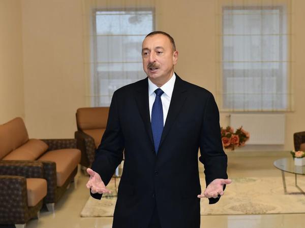 """İlham Əliyev: """"Bu gün bütün bölgələrimizdə çox böyük canlanma gedir"""""""