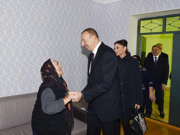 Prezident İlham Əliyev və xanımının Zərdab və Tərtərə səfəri - YENİLƏNİB - FOTO