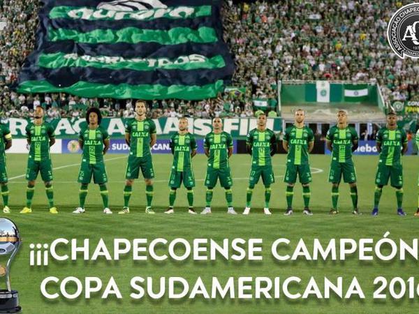 "CONMEBOL ""Şapekoense"" klubunu Cənubi Amerika Kubokunun qalibi elan edib"
