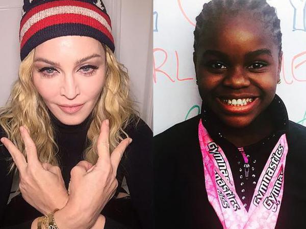 Madonnanın 10 yaşlı qızının uğuru - FOTO