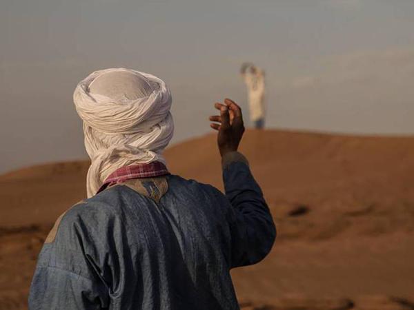 Saharaya səyahət - FOTO
