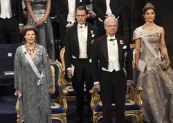 "Stokholmda Nobel mükafatı laureatları <span class=""color_red"">təltif olundu - FOTO</span>"