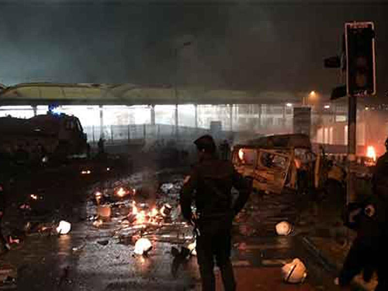 İstanbulda terror aktı nəticəsində həlak olanların sayı 39-a çatdı - YENİLƏ ...