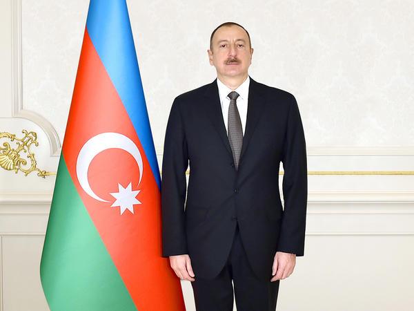 Azərbaycan Prezidenti Lüksemburqun Böyük Hersoqunu təbrik edib
