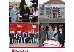 Kapital Bank daha iki yenilənmiş filialını istifadəyə verdi