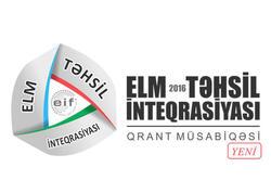 Elmin İnkişafı Fondu müsabiqə elan edib