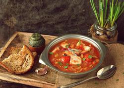 İtalyansayağı balıq şorbası