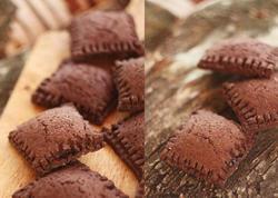 Alma cemi ilə şokoladlı peçenye - FOTO