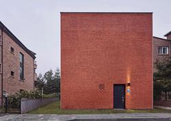 Qırmızı meydan evi - FOTO