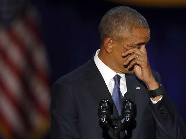 """Obamadan vida mesajı - <span class=""""color_red"""">""""Sizə görə belə oldum""""</span>"""
