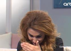 """Elnarə efirdə ağladı: """"Bir ömür özümü bağışlaya bilməzdim"""" - VİDEO - FOTO"""