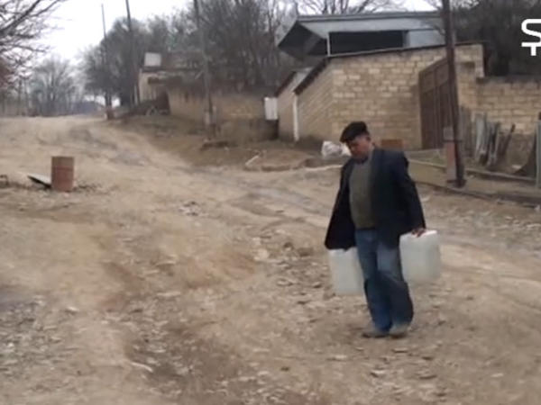 Şamaxıda su problemi - Ümid su maşınlarına qalıb - VİDEO - FOTO