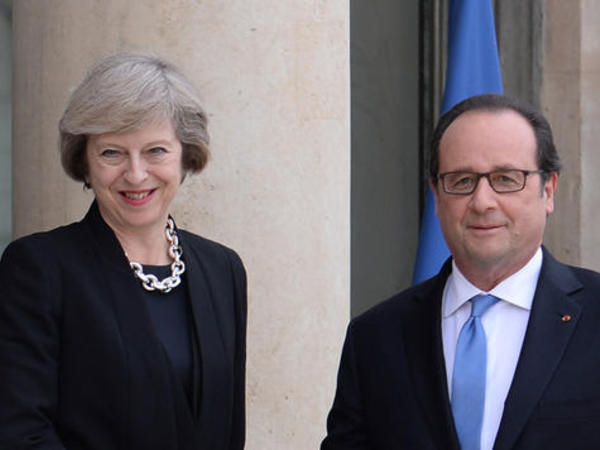 """Olland və Mey """"Brexit"""" mövzusunu müzakirə ediblər"""