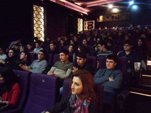 Nizami Kino Mərkəzində Milli Qəhrəmanlarımız haqqında sənədli fılmlər nümayiş olunur - FOTO