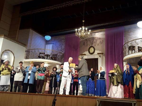 Musiqili Teatrın aktyorları Fəcr Festivalında mükafata layiq görülüb