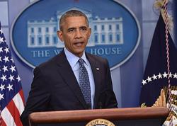 Obama son mətbuat konfransını keçirdi - FOTO