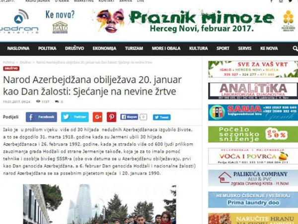Mixail Qorbaçovun cinayətləri haqqında məqalə dərc olundu