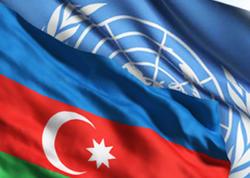 Azərbaycan və BMT üç işçi qrupu yaradır