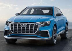 Audi-dən böyük krossover - FOTO