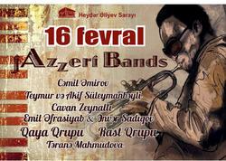 """Heydər Əliyev Sarayında """"jAzzeri Bands"""" konsert proqramı keçiriləcək - VİDEO"""
