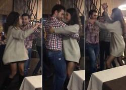 Aparıcı Umka salsa oynadı - VİDEO