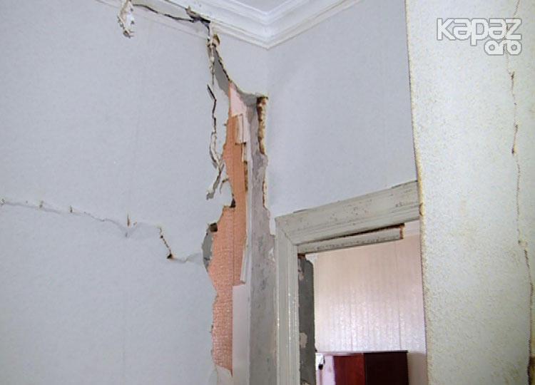 Gəncədə PARTLAYIŞ bütün evi silkələdi, yaralı var - FOTO