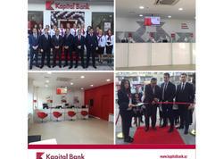 Kapital Bank-ın yenilənmiş Həzi Aslanov filialı istifadəyə verildi