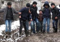 Gürcüstanda yaşayan azərbaycanlılar etiraz aksiyası keçirib - FOTO
