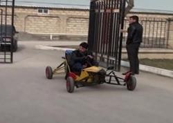 Göyçaylı gənc yeni avtomobil hazırlayıb