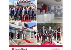 Kapital Bank-ın yenilənmiş Qubadlı filialı istifadəyə verildi