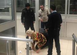 Sevgilisini çantada Türkiyəyə keçirmək istəyən gürcü tutuldu - FOTO